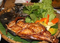Cách chế biến cá bò da nướng muối ớt