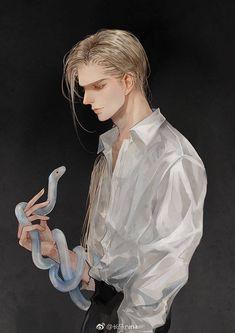 Draco Malfoy Fanart by on Weibo Harry Potter Fan Art, Images Harry Potter, Harry Potter Drawings, Drarry Fanart, Art Anime, Manga Art, Camus Utapri, Character Inspiration, Character Art