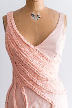 Silk Peach Emanuel Ungaro Gown - XS | G O S S A M E R