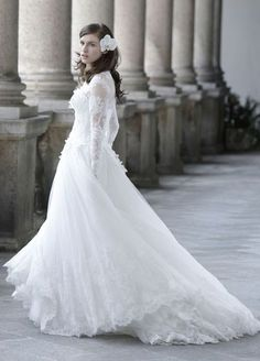 Wedding dress idea; Featured Dress: Maison Signore