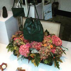 Autumn florals Boudoir, Florals, Autumn, Bags, Fashion, Woman, Floral, Handbags, Moda