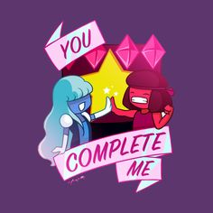 Check out this awesome 'Crystal+Gems+Love' design on You Complete Me, Love Design, Gems, Art Prints, Crystals, Awesome, Check, Shop, T Shirt