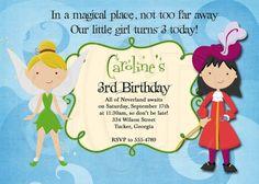 Tinkerbell Captain Hook Birthday By Graciegirldesigns77 On Etsy