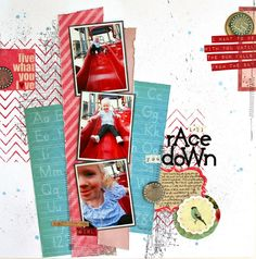 layout by Audrey Yeager for Glitz Design