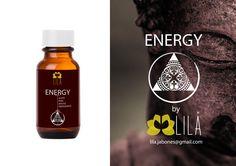 ACEITE PARA MASAJE ENERGIZANTE. Energy by Lila  www.facebook.com/LilaCosmeticaHolistica info@lilanatura.com