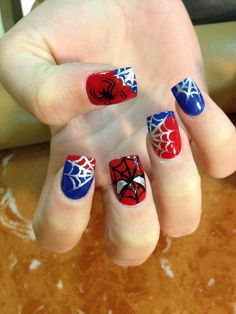 Spider-man nails...