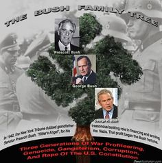 "SAY NO TO JEB ""BUSH"" Hitler's cousin; Nazi George H. Scherff Jr. aka: George HW Bush has the honor of being the first Nazi war criminal to be brought to American under the American OSS's ""Illegal"" Operation Paperclip! Bush senior is a foreign born Nazi Spy & Presidential Usurptor. He was NOT born in America & should never have been allowed to become a US President!"
