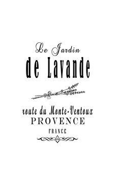 DECO-DRAWER ~ ~: LAVENDER CYCLING ... Diy Image, French Typography, Etiquette Vintage, Johann Wolfgang Von Goethe, Foto Transfer, French Script, Free Graphics, Vintage Labels, Sign Design