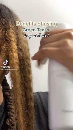 Hair Tips Video, Long Hair Tips, Curly Hair Tips, Curly Hair Care, Curly Hair Styles, Diy Hair Treatment, Natural Hair Treatments, Black Hair Growth, Black Hair Care
