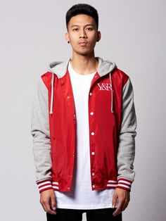 Mens - Outerwear. Young and Reckless Mens - Outerwear - Bombers   Jackets  Manchester Varsity ... 396d816de