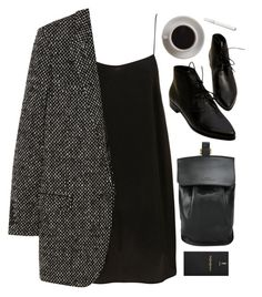 alone in the city by ffeathered on Polyvore featuring Yves Saint Laurent, DESA and Bunn