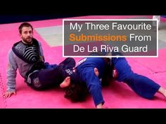 DE LA RIVA - 3 SWEEPS: Knee Push Sweep, Scissor Sweep and Rainbow Sweep with Kris Kim - YouTube
