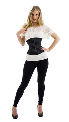 9b713600c1b Full Figure sizes available This gorgeous OC underbust corset is made with  strong polybrocade pinstripe.
