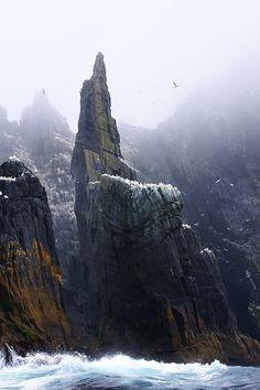 Little Skellig, Ireland | by Shai.Hulud
