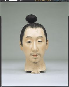 Raw doll _ Fujiwara era civilian body Tokyo National Museum Image ID:C0098388 Shooting site:Front Column article number:I-856 Age:Meiji era _20c shape:High 31.5