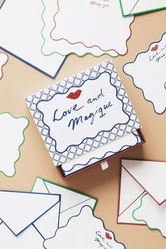 Hotel Magique for Anthropologie Love and Magique Boxed Card Set | Anthropologie Anthropologie Uk, Fabric Journals, Tokyo Story, Art Prints, Floral Prints, Best Brand, Paper Goods, Beaded Clutch, Mixing Prints