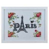 Quadro Paris em Flor - Col. Exclusiva