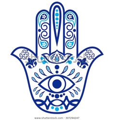 """Imagens, fotos stock e vetores similares de Color Hamsa hand drawn symbol with mantra OM. Decorative pattern in oriental style for the interior decoration and henna drawings. The ancient sign of """"Hand of Fatima"""". Hand Tattoos, Hamsa Hand Tattoo, Hamsa Art, Hamsa Drawing, Henna Drawings, Hamsa Tattoo Design, Hipster Drawings, Jewish Art, Hand Of Fatima"""