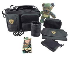 """Same day shippingorder by 1PM EST M-F    Hassle-Free Guarantee          Full Load Out 2.0 Set Includes:   The Deuce Diaper Bag 2.0 Changing Mat Dump Pouch 2.0 [Coyote Brown BACKORDERED 4 WEEKS, SHIPS SEPARATE] Bottle Pouch 2.0 Tactical Teddy Number Patch Set Wipe Pouch 2.0 Dad LifeSocks TBG Carabiner  Our original diaper bag set now comes fully loaded to let you take on anything your daddy deployment throws at you. The original """"The Deuce"""" Diaper Bag 2.0 anchors the full load out set wi..."""