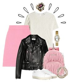 """""""Bright Idea"""" by cherieaustin ❤ liked on Polyvore featuring Victoria Beckham, Gucci, Yves Saint Laurent, Miu Miu, Old Navy, Marc Jacobs and Cartier"""