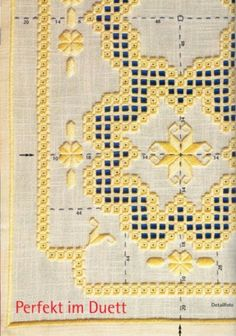 I like the soft, rounded look of this. Types Of Embroidery, Learn Embroidery, Ribbon Embroidery, Embroidery Patterns, Drawn Thread, Hardanger Embroidery, Brazilian Embroidery, Cross Patterns, Satin Stitch