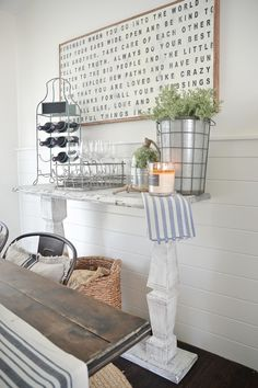 DIY super easy and customizable buffet. Also great for an entry table, sofa table, and more!
