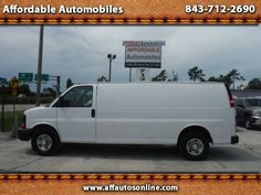 Used 2014 Chevrolet Express 3500 Cargo Extended for Sale in Myrtle Beach SC…