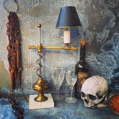 A personal favorite from my Etsy shop https://www.etsy.com/listing/495179032/desk-lamp-brass-industrial-lighting-desk