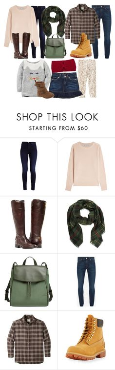 """""""Our Family Part 86: Apple Orchard"""" by modestlygracie ❤ liked on Polyvore featuring Vince, Skagen, Alexander McQueen, Mountain Khakis, Timberland, Carter's, Levi's and NOVICA"""