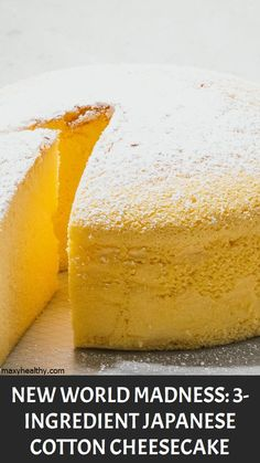 New World Madness: Japanese Cotton Cheesecake – Maxy Healthy Constipation Remedies, Natural Remedies For Heartburn, Natural Teething Remedies, Natural Sleep Remedies, Herbal Cure, Herbal Remedies, Health Remedies, Healthy Eating Tips, Healthy Drinks