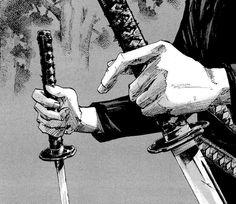 Image about boy in anime/manga by カクタス on We Heart It Aesthetic Art, Aesthetic Anime, Manga Art, Manga Anime, Character Art, Character Design, Samurai Artwork, Arte Cyberpunk, Musashi