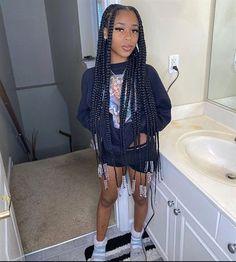 Black Girl Braids, Braided Hairstyles For Black Women, African Braids Hairstyles, Braids For Black Hair, Girls Braids, Weave Hairstyles, Curly Hair Styles, Natural Hair Styles, Twisted Hair