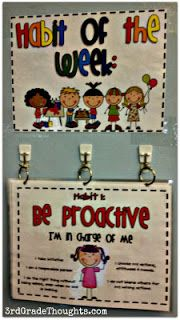 Teaching Character Traits-revamp of the posters using different graphics.