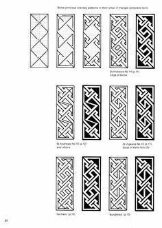 Iain Bain Celtic key patterns   106 photos