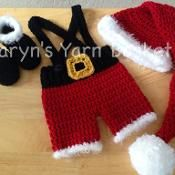 Santa's Lil Helper 4pc Suit - via @Craftsy $9.50