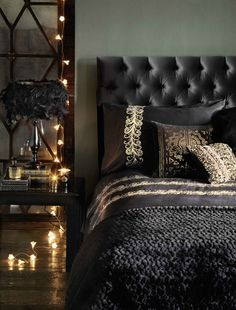6 Colors and How They Affect the Way You Live 30 Dramatic Bedroom Ideas - Interior Design Ideas, Home Designs, Bedroom, Living Room Designs Bedroom Color Schemes, Bedroom Colors, Colour Schemes, Color Palettes, Dream Bedroom, Home Decor Bedroom, Bedroom Ideas, Bedroom Inspiration, Design Bedroom
