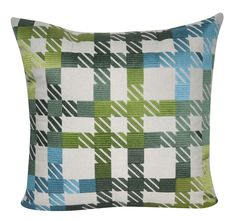 Loom and Mill Plaid Decorative Throw Pillow