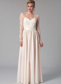 M7507 Misses' Mix-and-Match Sweetheart Bridal Dresses