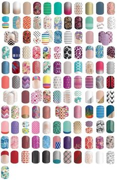 spring summer 2015 jamberry nail designs - CLICK and request a free sample! View more at http://mandiwelbaum.jamberrynails.net