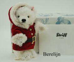 Steiff Christmas Teddy Bear 037252 retired #Steiff