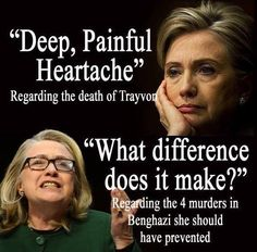 """Hillary """"what difference does it make"""" Clinton"""