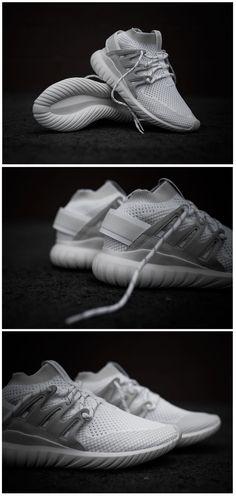 separation shoes 029da fc8d0 adidas Originals Tubular Nova Primeknit  Triple White Adidas Tubular Nova,  Mens Skechers, Football