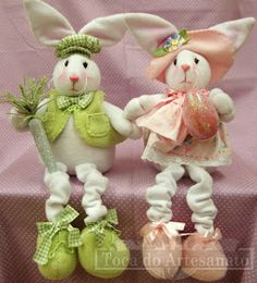 Toca do Artesanato: Semana de Páscoa Sewing Crafts, Sewing Projects, Projects To Try, Crafts To Make And Sell, Diy And Crafts, Felt Crafts, Easter Crafts, Easter Parade, Holiday Crochet
