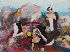 Pedro Salgado es un atleta de parkour .Un homenaje desde la pintura