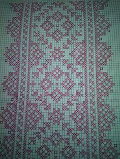 Luanaamelia Russo's media content and analytics Cross Stitch Borders, Cross Stitch Designs, Cross Stitching, Cross Stitch Patterns, Beaded Embroidery, Cross Stitch Embroidery, Embroidery Patterns, Sewing Patterns, Crochet Cross
