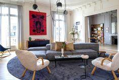 Spectacular Paris Apartment by Rodolphe Parente
