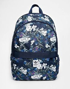 Adidas Originals Backpack in Floral Print - Multi Adidas Rucksack 4f5ee29089cae