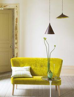 Designers Guild Julep sofa *dining table window sofa!!