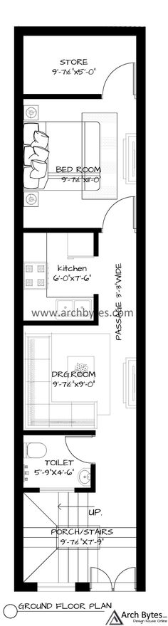 20x30 House Plans, House Floor Plans, Hatch Pattern, 2 Storey House Design, Square Feet, Yard, How To Plan, Drawing, Architecture