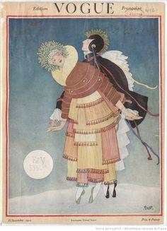 Vogue (Paris) 1920-1940; 148 issues available. Link to archive: http://gallica.bnf.fr/ark:/12148/cb343833568/date.r=%C3%89l%C3%A9gances+f%C3%A9minines.langEN